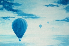 Balloon Flight (turquoise) - W.Col. for Brief Art-lighter