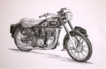 1953 AJS 500cc Single